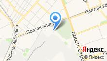 Газпрофстрой на карте