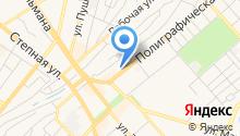 Видеонаблюдение Регион Поволжье на карте