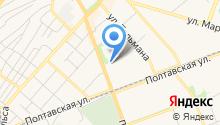 Адвокатский кабинет Глухова Я.А. на карте