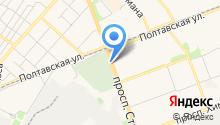 Автостоянка на проспекте Строителей на карте