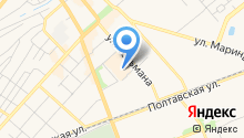 ДоннА-пицца на карте