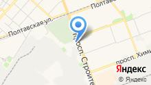 VIP friends на карте