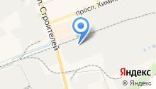 Волжский кирпичный завод на карте