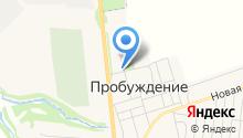 Продуктовый магазин на ул. АТХ на карте