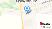 Муравей на карте