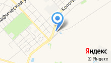АГЗС Сибур на карте
