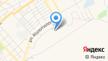 Автостоянка на ул. Колотилова на карте