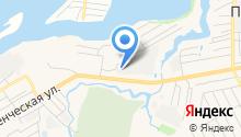 Волжский берег на карте