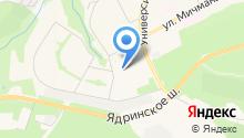 Периметр-М на карте