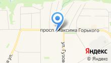 LIONPRINT - ТРАФАРЕТНАЯ ПЕЧАТЬ (ШЕЛКОГРАФИЯ). на карте
