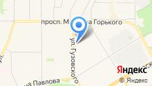 JT на карте
