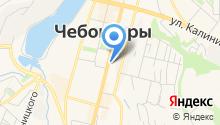 Отдел организации деятельности участковых уполномоченных полиции и подразделений по делам несовершеннолетних МВД по Чувашской Республике на карте