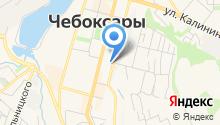 Комиссия по профессиональному психологическому отбору в МВД по Чувашской Республике на карте