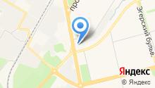 CAHPEMO на карте