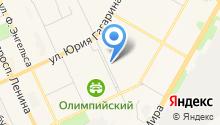 Mustang на карте