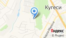 Кугесьский детский дом-интернат для умственно отсталых детей, БУ на карте
