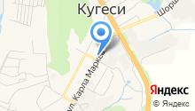 КРАС-КО на карте