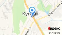 Местное на карте