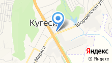 Администрация Кугесьского сельского поселения на карте
