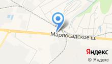 ONIS на карте