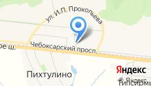 ONAIL на карте