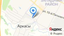 Auto-Zona на карте