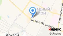 Первомайский, ЗАО на карте