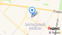 Бархан на карте