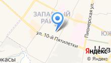 Управление ФСИН России по Чувашской Республике на карте