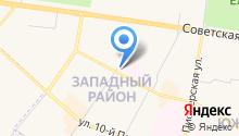 Romashka на карте