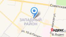 Адвокатские кабинеты Моторина А.Б. и Леонтьева В.С. на карте