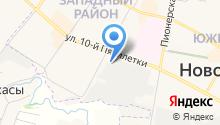 ГенСтар на карте
