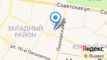 Новочебоксарская городская станция по борьбе с болезнями животных, БУ на карте