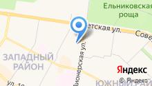 Глория Фарм на карте