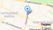 N-TYRE на карте