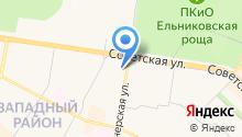 НКТВ на карте