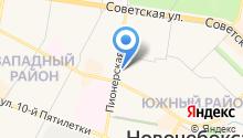 Новочебоксарский отдел Управления Федеральной службы государственной регистрации на карте