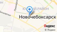 Звениговский на карте