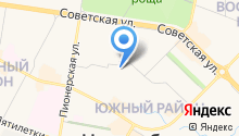 Управление ФСБ России в г. Новочебоксарске на карте
