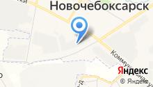 Агентство по поддержке малого бизнеса в Чувашской Республике, АНО на карте