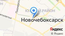 Батальон патрульно-постовой службы ОВД по г. Новочебоксарску на карте