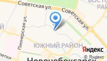Центральная библиотека им. Ю. Гагарина на карте