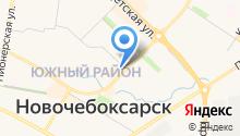 Управления Федерального казначейства по Чувашской Республике на карте