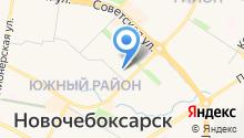 Отдел вневедомственной охраны по г. Новочебоксарск на карте