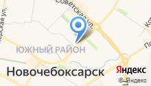 Банкомат, АКБ Чувашкредитпромбанк на карте