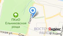 Сахарок на карте