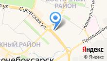 ГАЗПРОМ межрегионгаз Чебоксары на карте