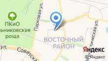 Лысковский мясокомбинат на карте
