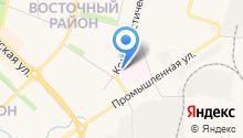 Новочебоксарская городская больница на карте