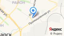 Отдел Военного комиссариата Чувашской Республики по г. Новочебоксарску на карте
